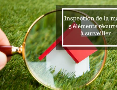 Inspection de la maison : 5 éléments récurrents à surveiller